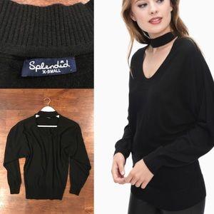 Splendid Cutout Sweater